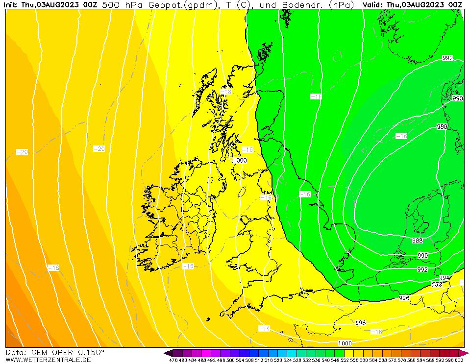 Isobar Chart UK