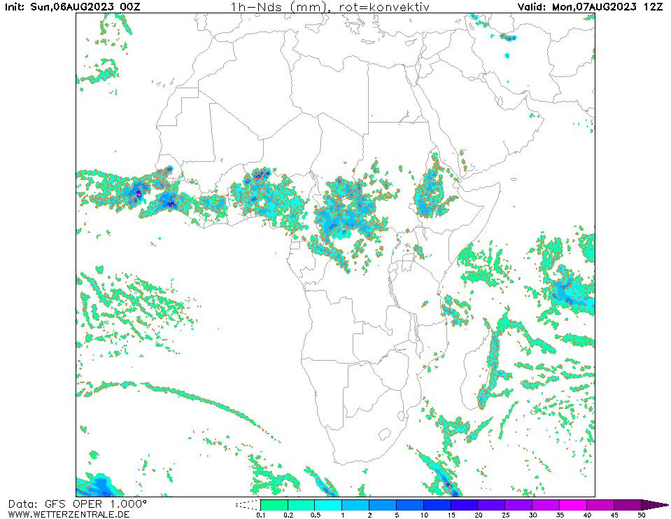 پیش بینی بارش ۳۶ ساعت آینده