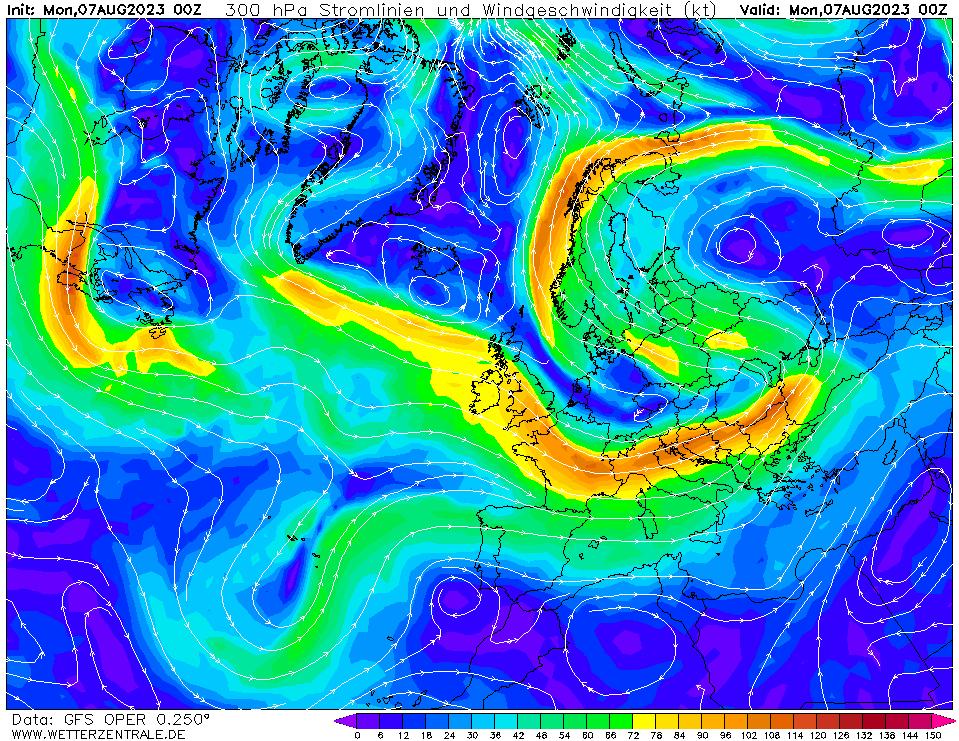 wetterzentrale mapa isobaras 0 horas