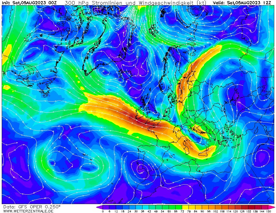wetterzentrale mapa isobaras 12 horas