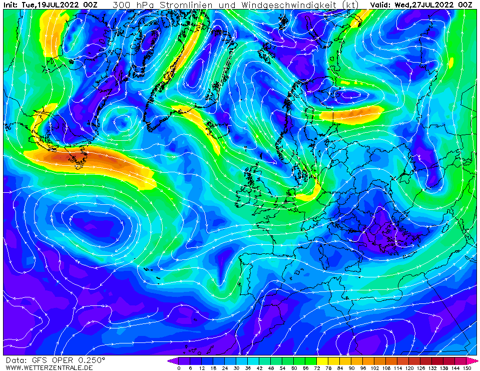 wetterzentrale mapa isobaras 192 horas