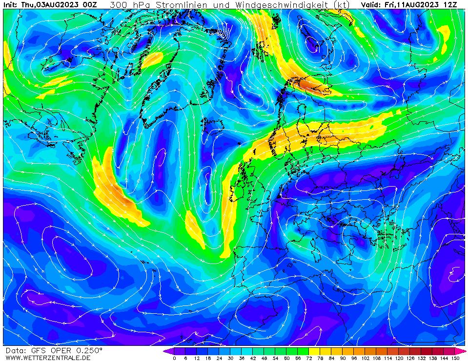 wetterzentrale mapa isobaras 204 horas
