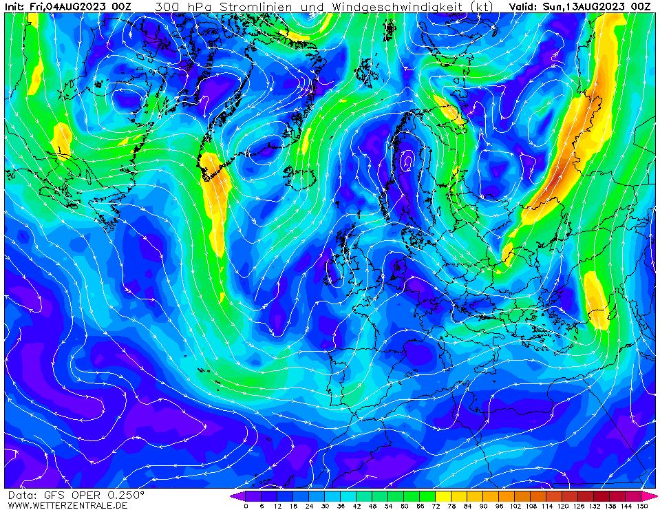 wetterzentrale mapa isobaras 216 horas