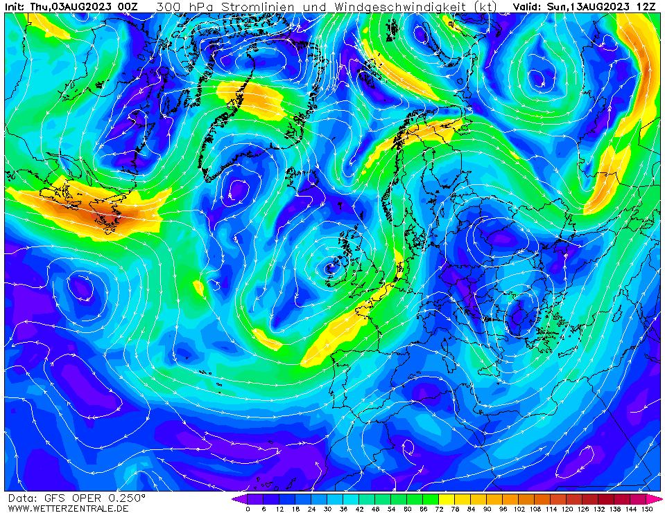 wetterzentrale mapa isobaras 252 horas