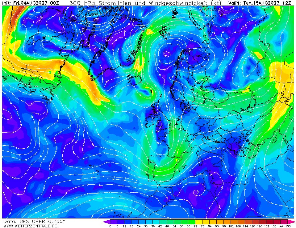 wetterzentrale mapa isobaras 276 horas