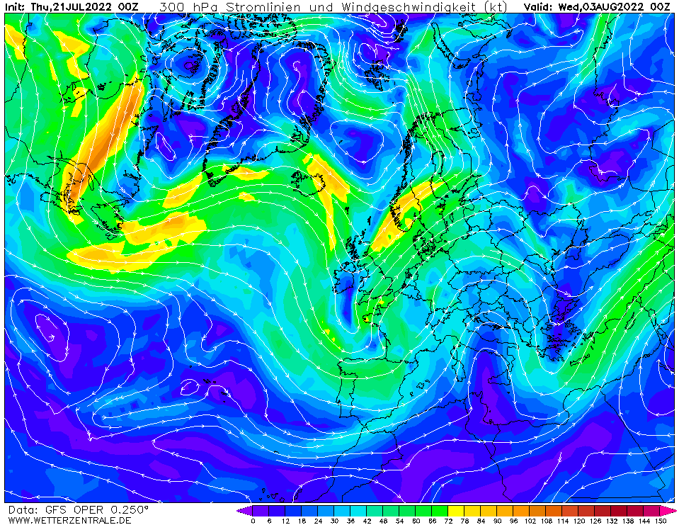 wetterzentrale mapa isobaras 312 horas
