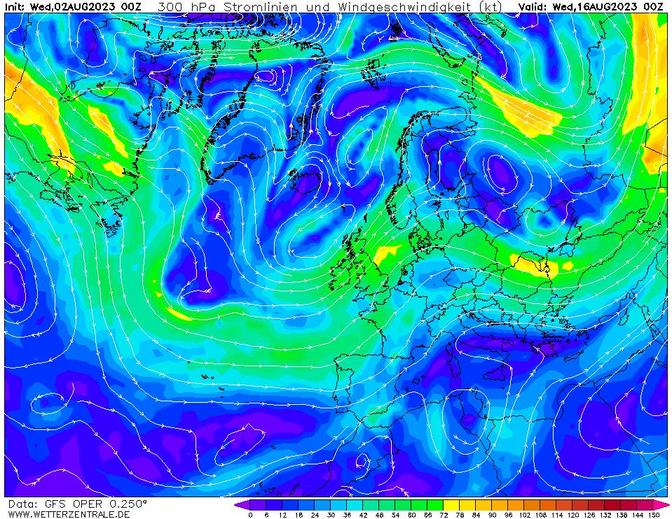 wetterzentrale mapa isobaras 336 horas