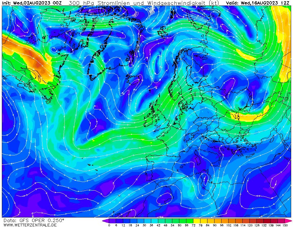 wetterzentrale mapa isobaras 348 horas