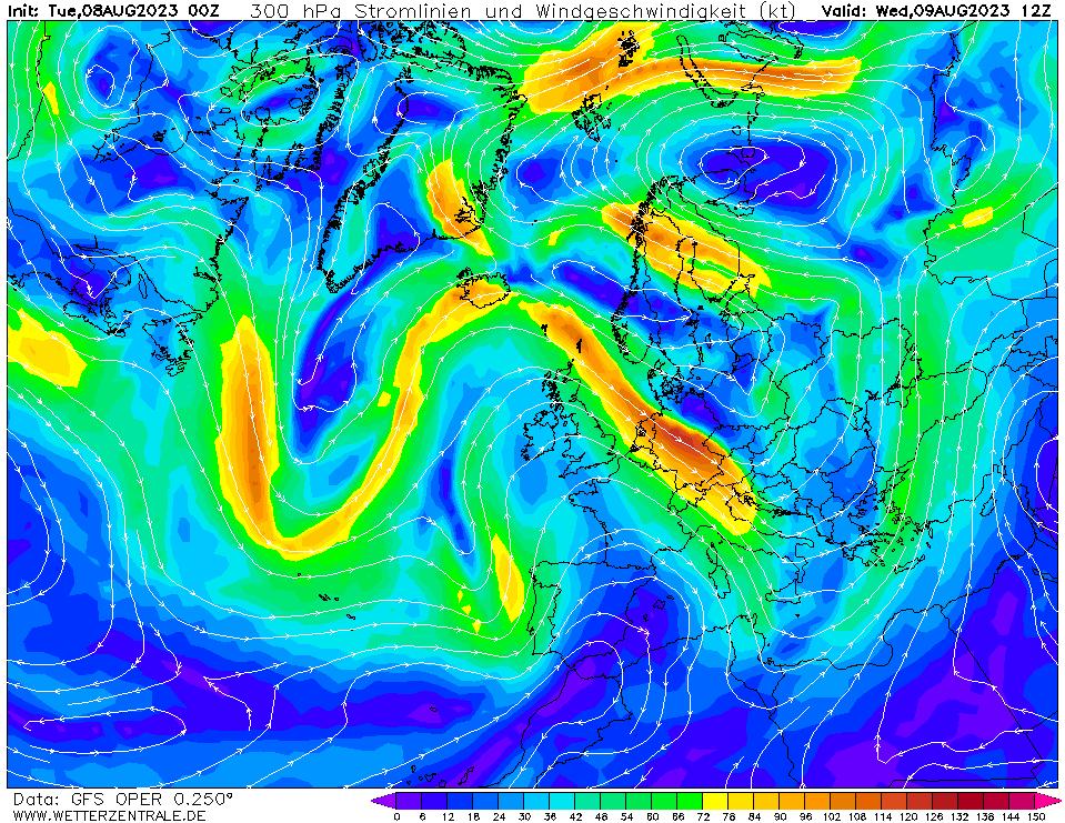 wetterzentrale mapa isobaras 36 horas