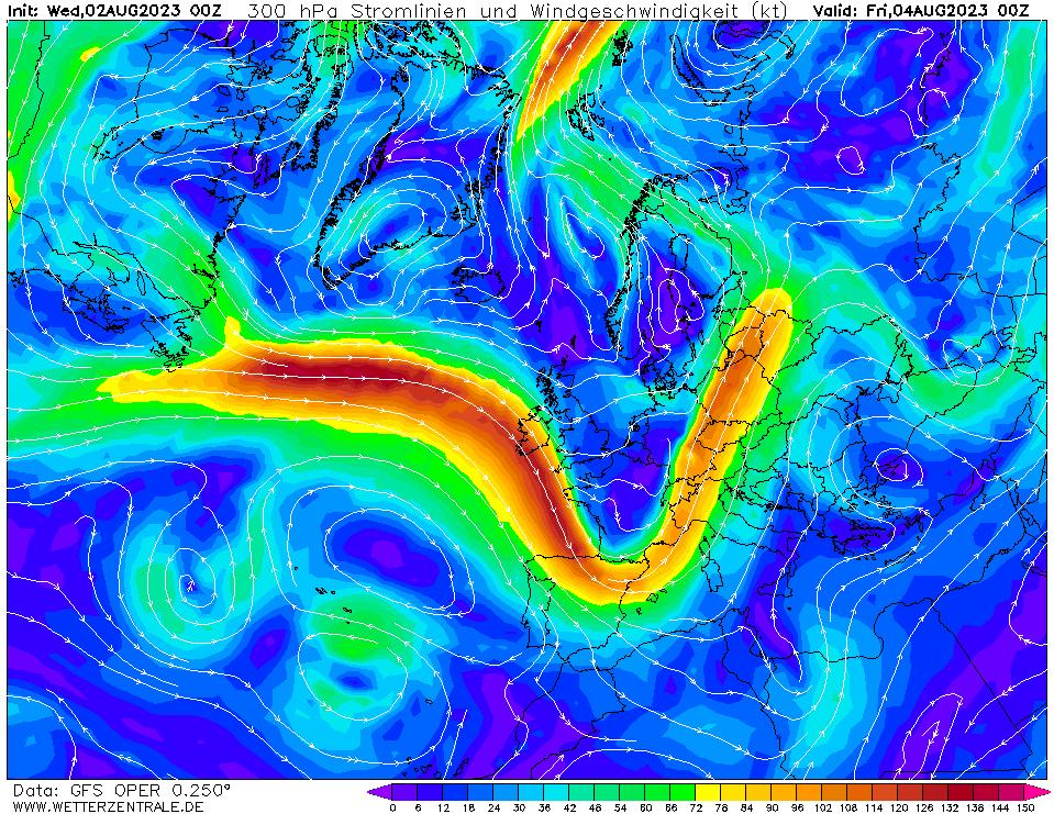 wetterzentrale mapa isobaras 48 horas