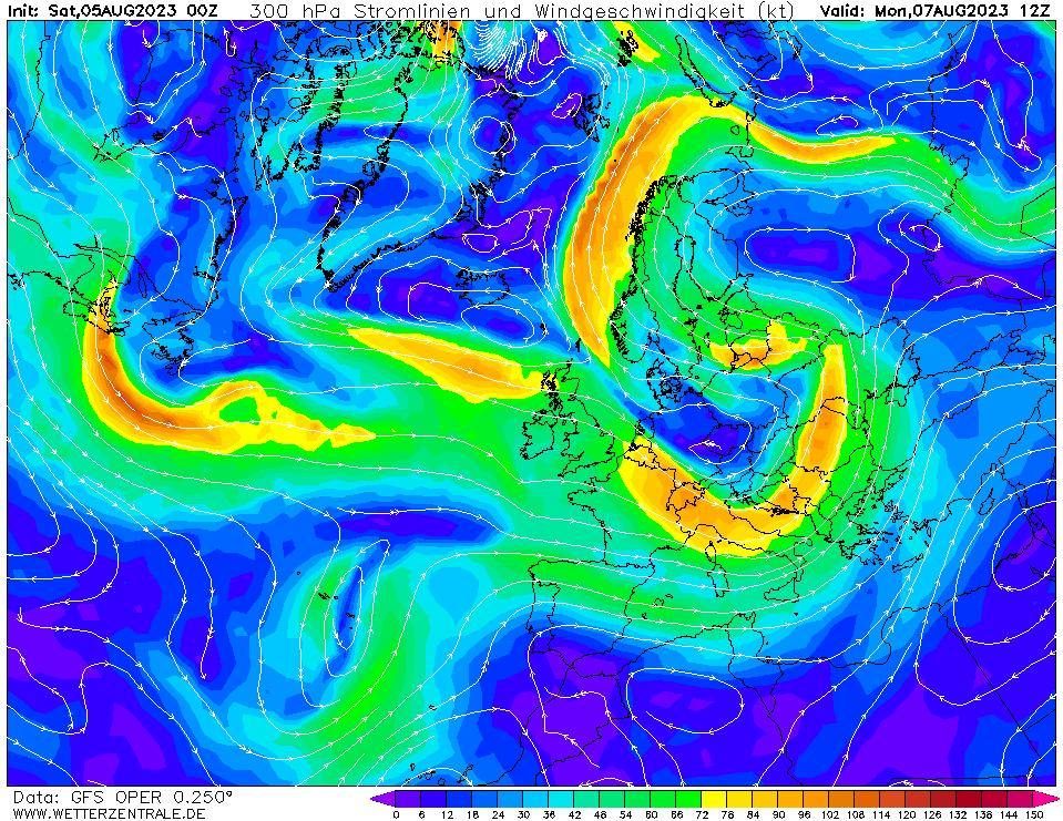 wetterzentrale mapa isobaras 60 horas