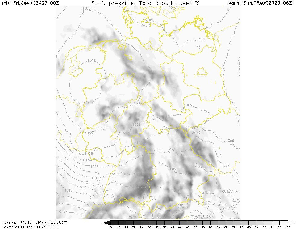 Wolken Wettervorhersage